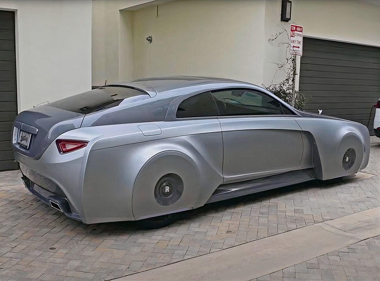Для Джастина Бибера создали уникальный Rolls-Royce на основе футуристической концепции 103EX