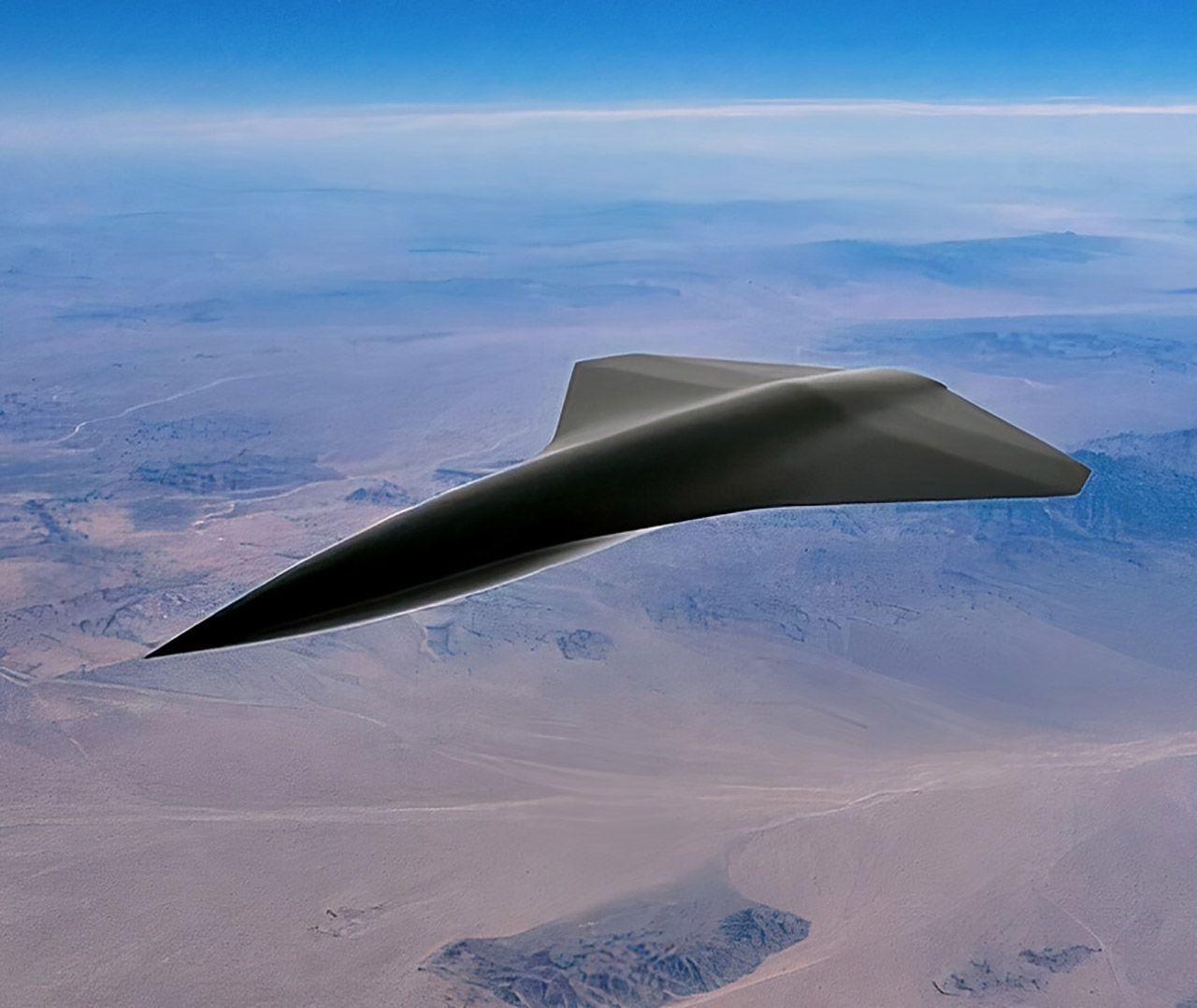 Сверхзвуковой дрон Arrow способен развивать скорость свыше 2400 км в час