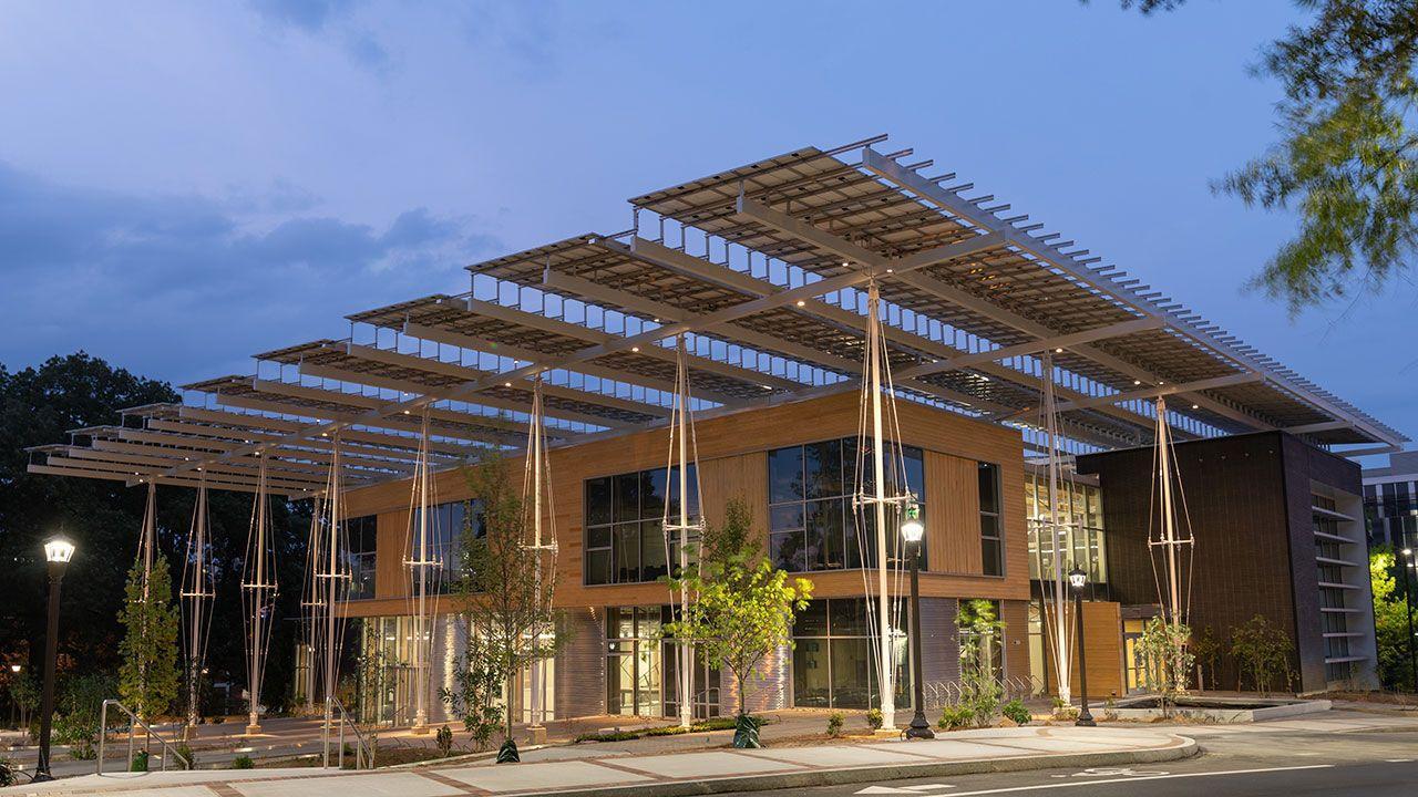 Kendeda Building: гарантия безопасности, устойчивости и комфорта для учебы и работы