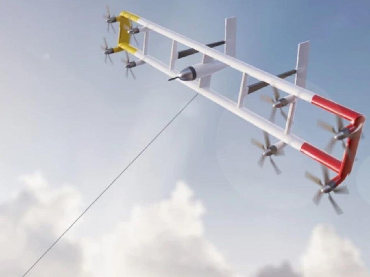 Автономные летающие турбины Kitekfraft вырабатывают энергию вдвое дешевле, чем стандартные ветротурбины