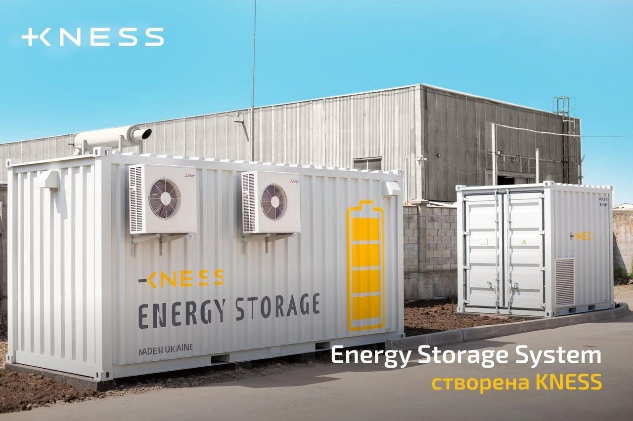 В Украине разработали первую отечественную промышленную систему накопления энергии