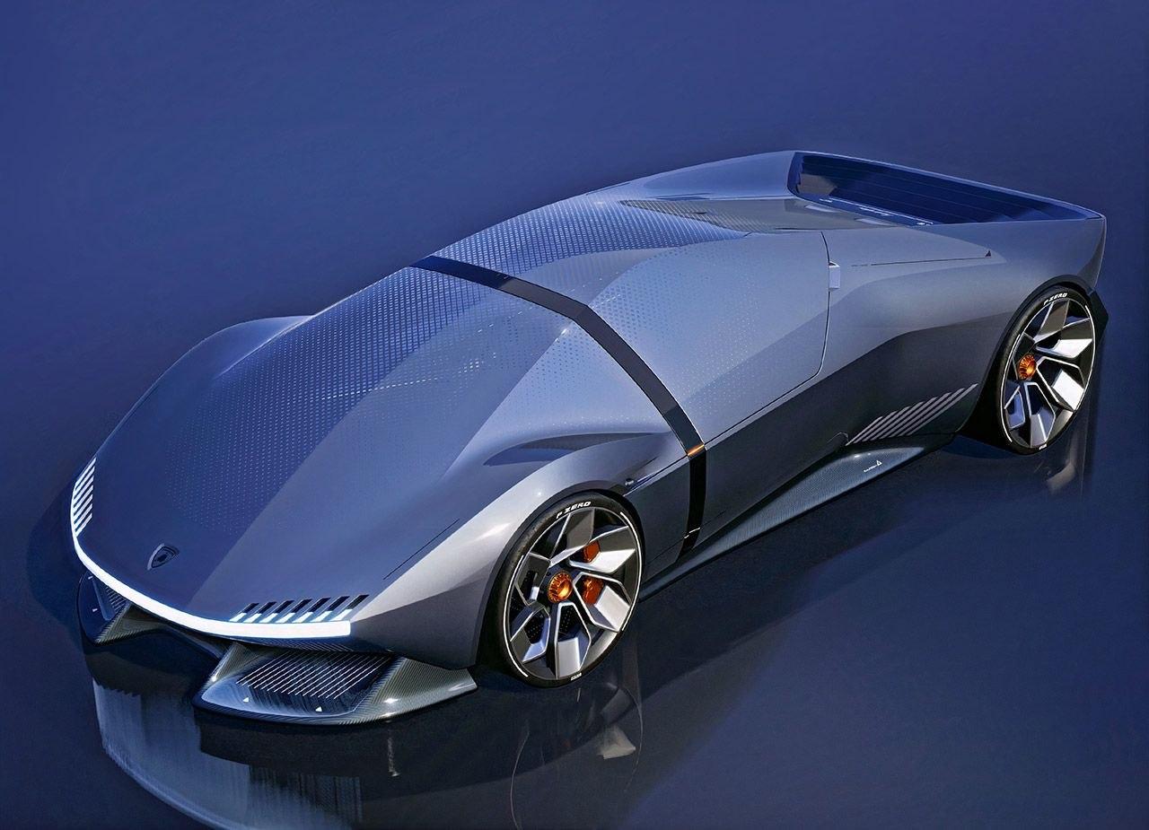 Концепт электрического гиперкара Lamborghini E_X
