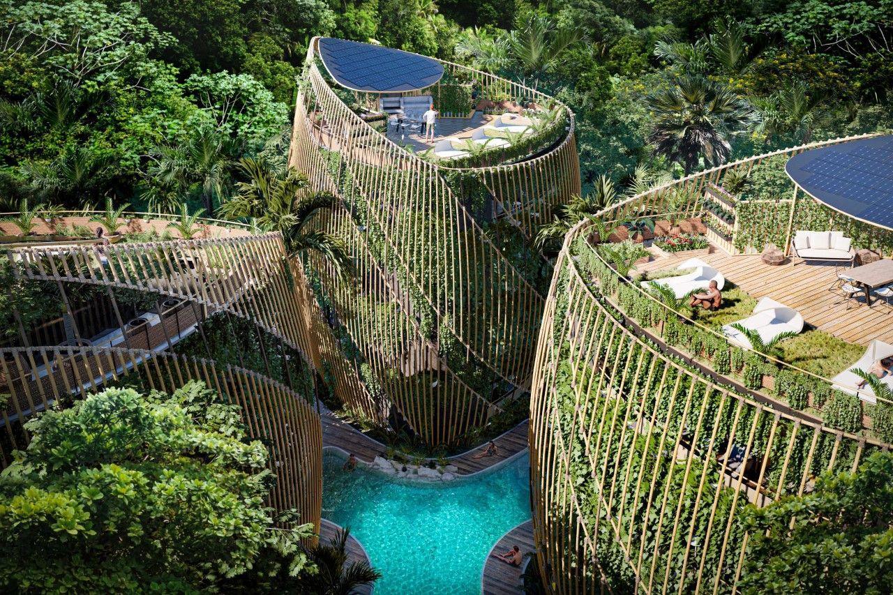 Уникальный жилой комплекс Living The Noom, погружает вас в лоно природы и роскоши