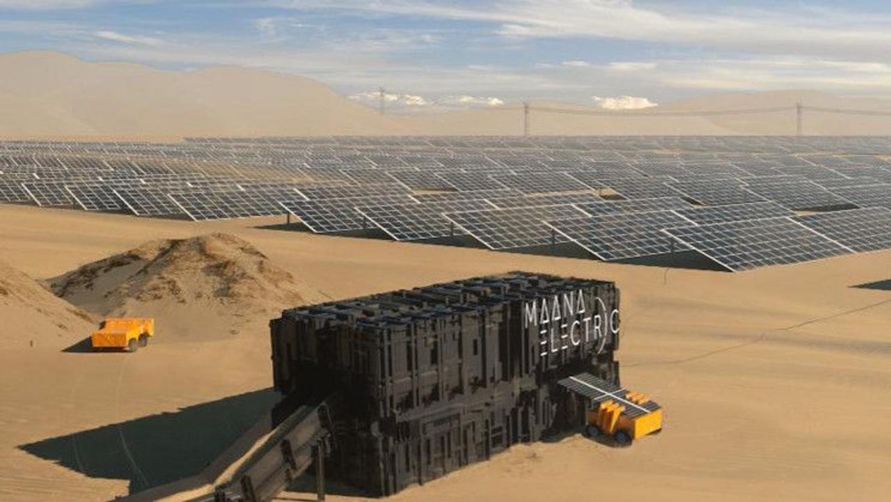 «Террабоксы» Maana Electric превращают песок в солнечные батареи для выработки электроэнергии