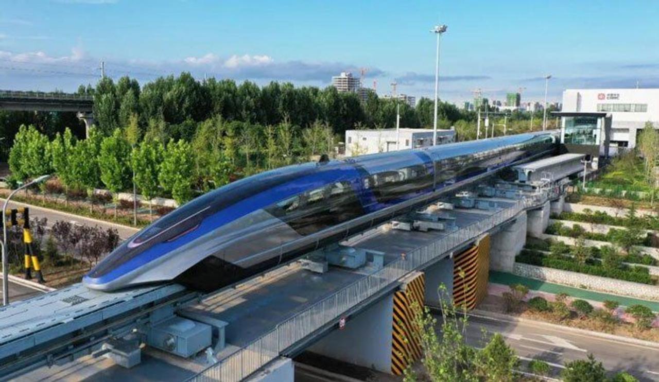 В Китае начали выпуск маглев-поездов, которые передвигаются со скоростью 600 км/ч