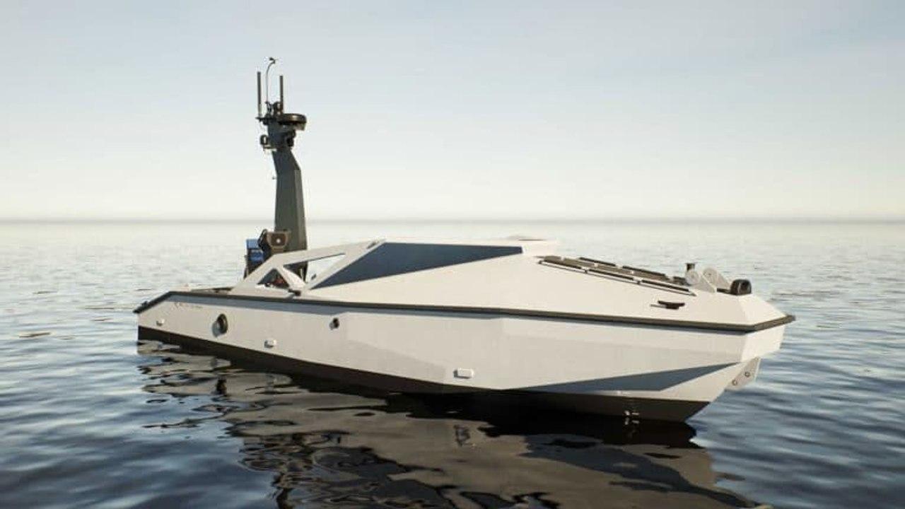 Metal Shark разработает беспилотный корабль большой дальности для доставки дронов -  камикадзе