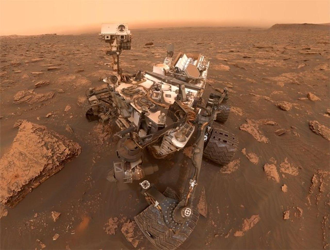NASA показоло видео с планеты Марс, сделанное марсоходом Mars Rover