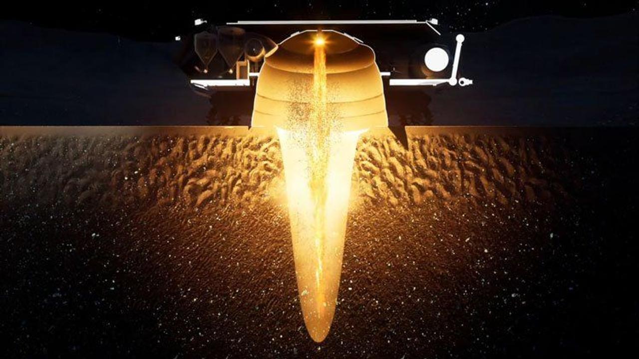 Роботизированный вездеход Rocket M будет добывать воду из-под поверхности Луны с помощью ракетных взрывов
