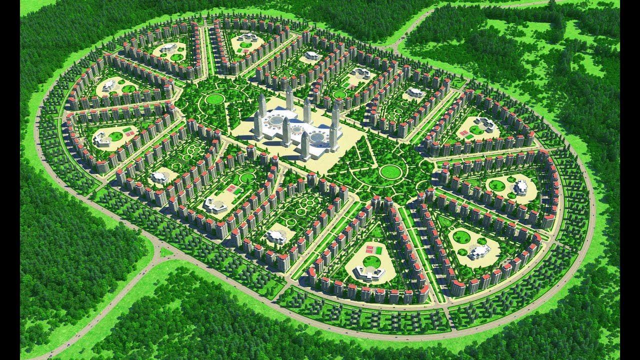 Компания Dahir Insaat разработала уникальную технологию строительства доступного жилья «Город под ключ»