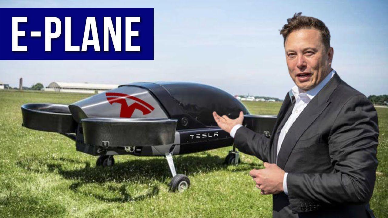 Илон Маск рассказал о планах создания электрического самолета вертикального взлета и посадки