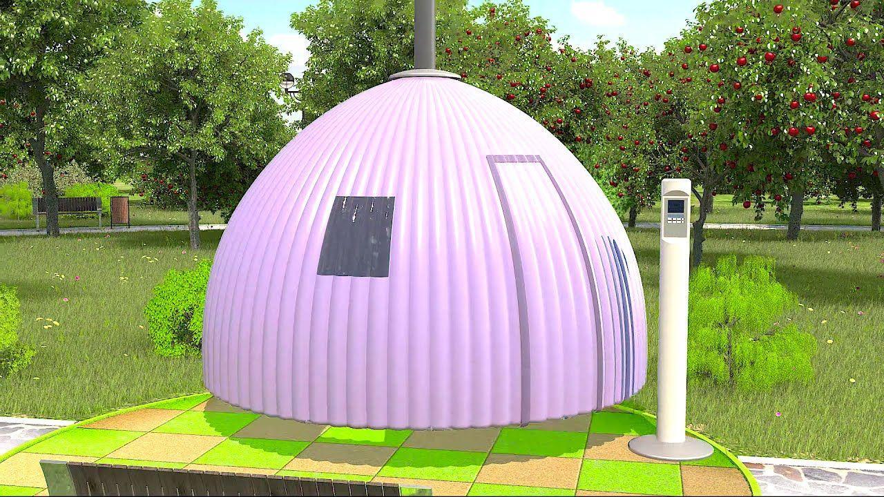 Компактные дома-купола обеспечат бесплатный ночлег для бездомных