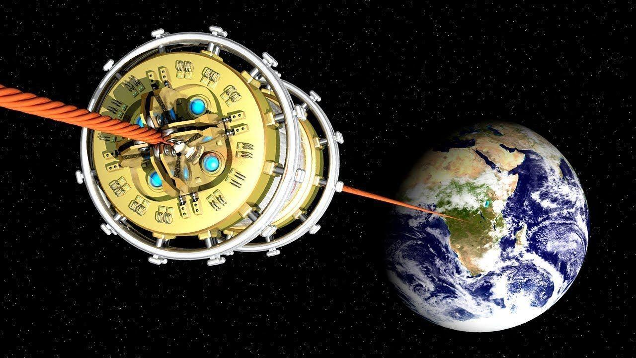 «Космический лифт» упростит полеты на Луну и увеличит объемы доставки грузов в космос