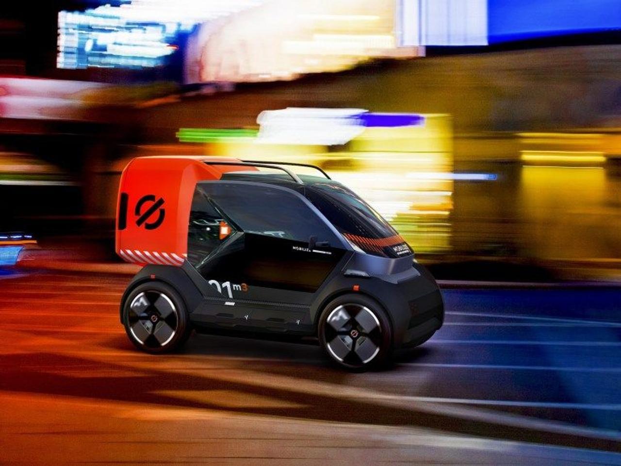 Renault представил три компактных электромобиля для бизнеса - DUO, BENTO и HIPPO