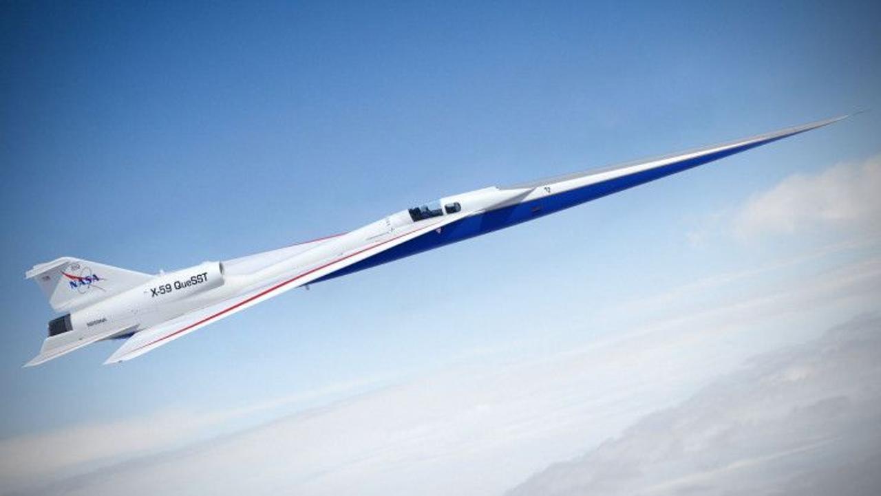 NASA создает «тихий» сверхзвуковой реактивный самолет X-59 с крейсерской скоростью 1,4 Маха
