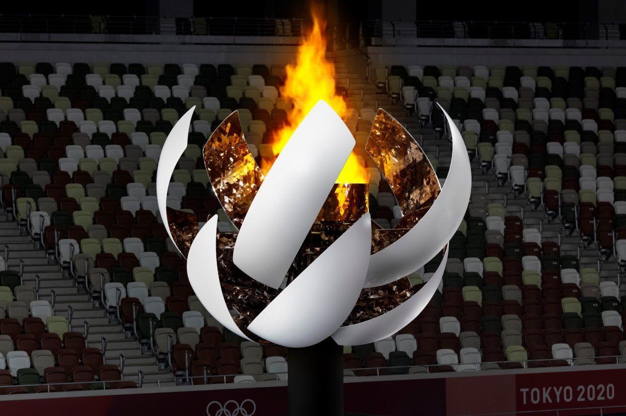 «Расцветающий» Олимпийский котел, созданный студией Nendo для Олимпийских Игр в Токио 2020, отражает философию «Под Солнцем, все равны»
