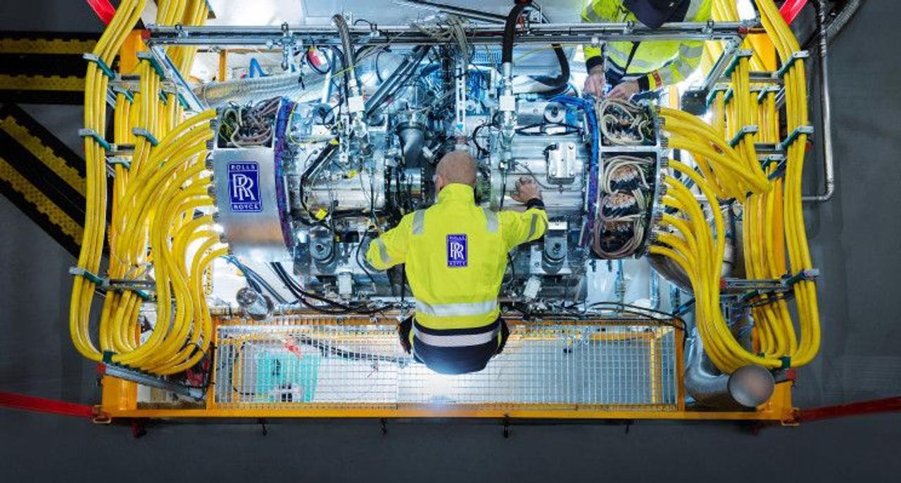 Rolls-Royce строит самую мощную гибридно-электрическую авиационную силовую установку