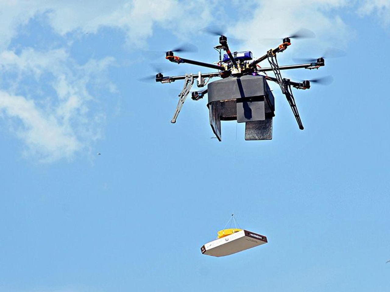 Многозадачный дрон для доставки RDSX, быстро доставит ваш заказ, без повреждений товара