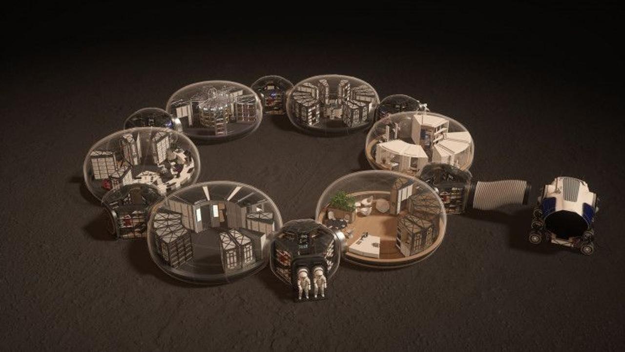 Дом-капсула для астронавтов на Марсе сможет обеспечить нормальную жизнь на протяжении нескольких лет