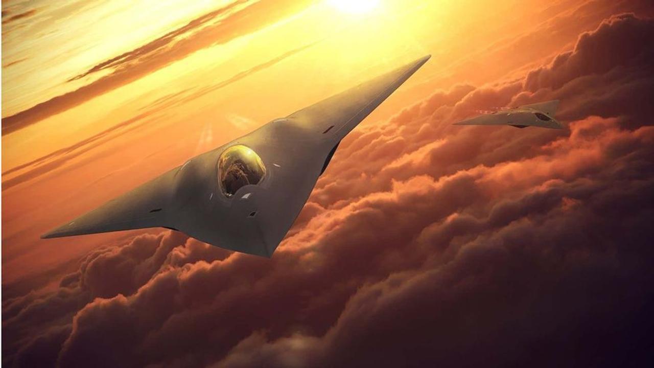 Как будет выглядеть новый секретный истребитель шестого поколения ВВС США?