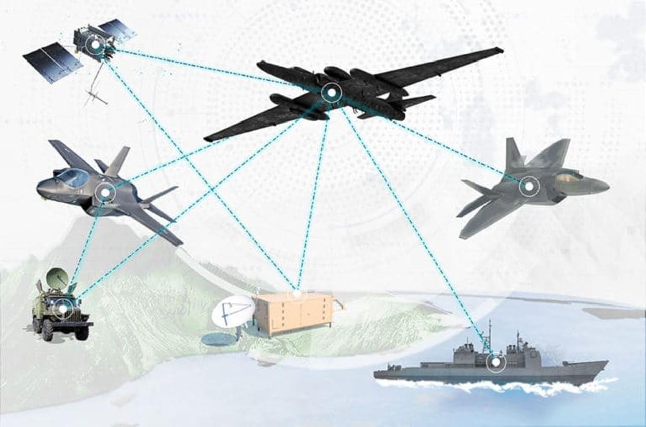 «Project Hydra» устанавливает двустороннюю связь между самолетами 5-го поколения F-22 и F-35 в полете