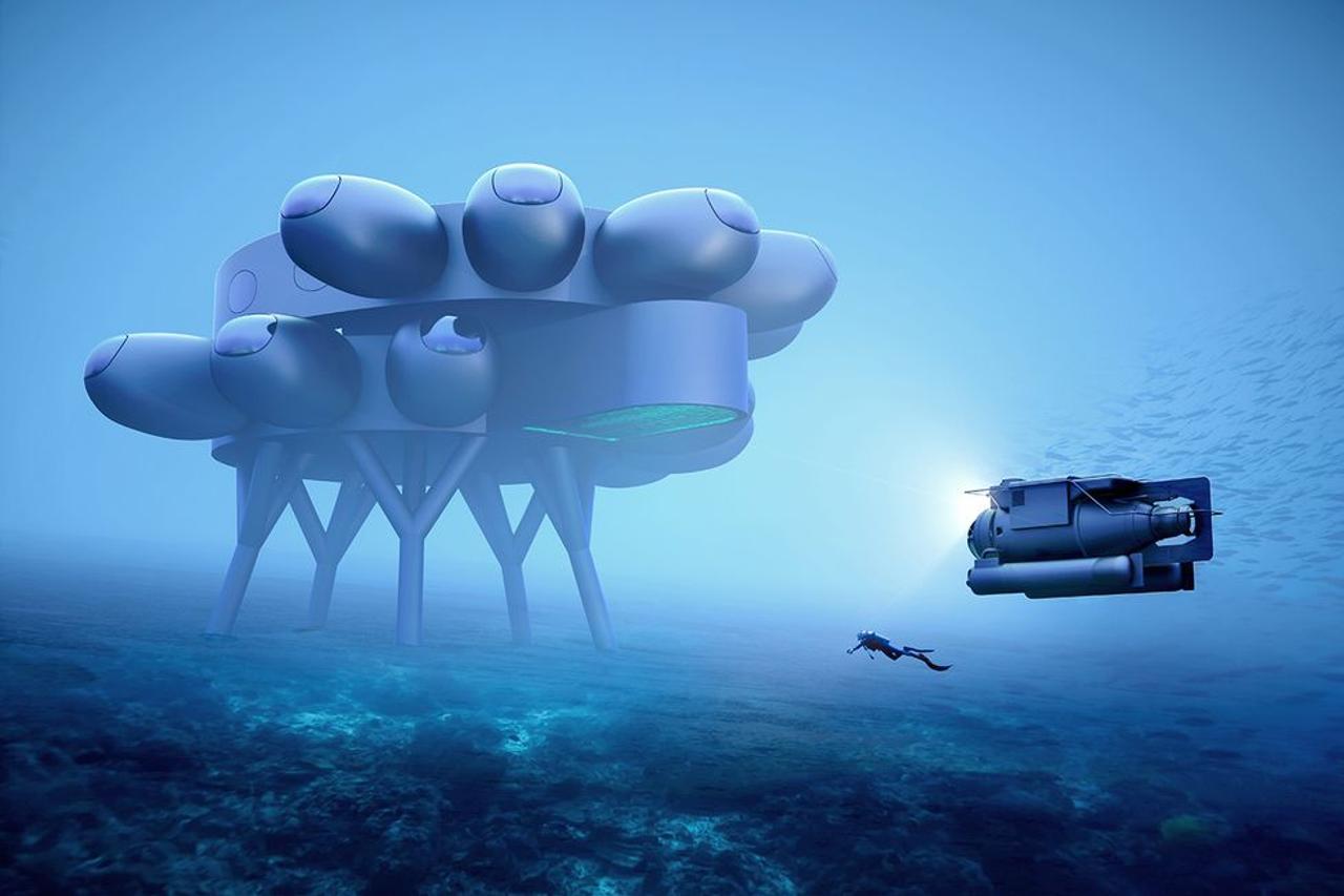 Внук Жака Кусто планирует грандиозное строительство подводной исследовательской станции