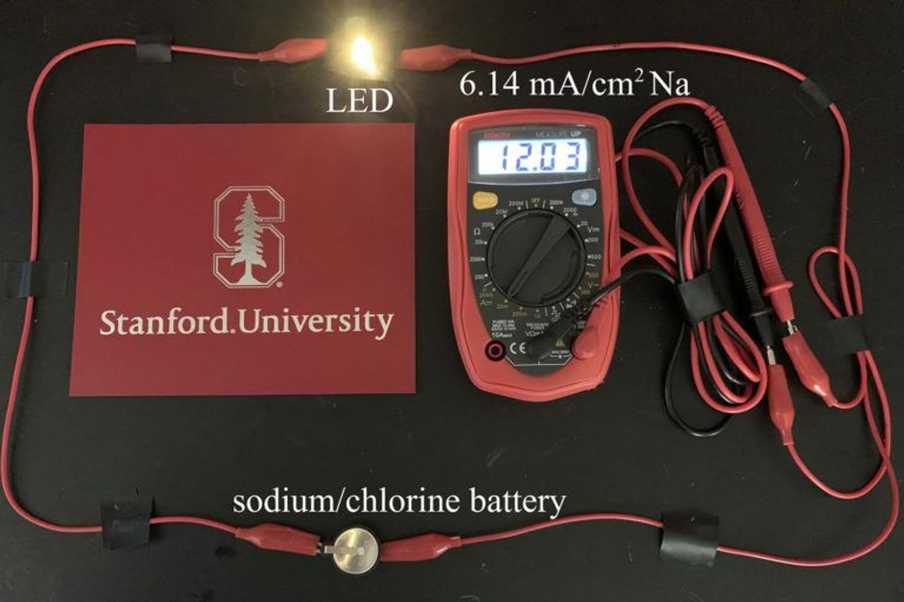 Новый тип аккумуляторных батарей хранит в шесть раз больше энергии