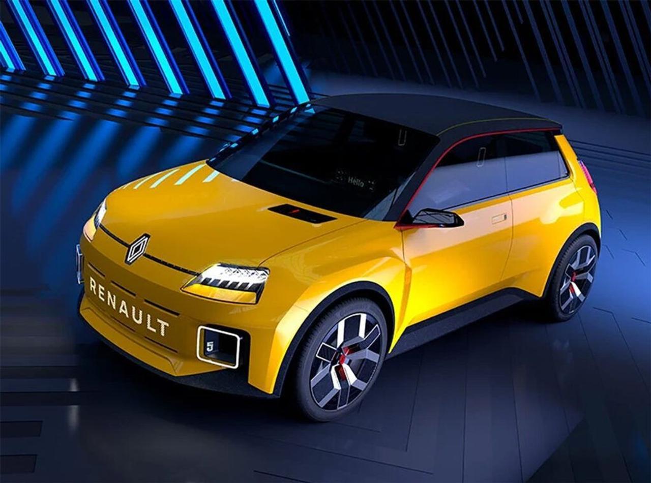 Renault представил возрожденный электромобиль R5