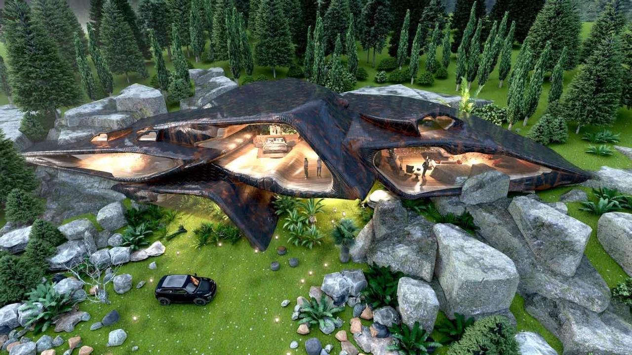 Канадский дом-рептилия Reptile House откроет новое измерение в туристической сфере