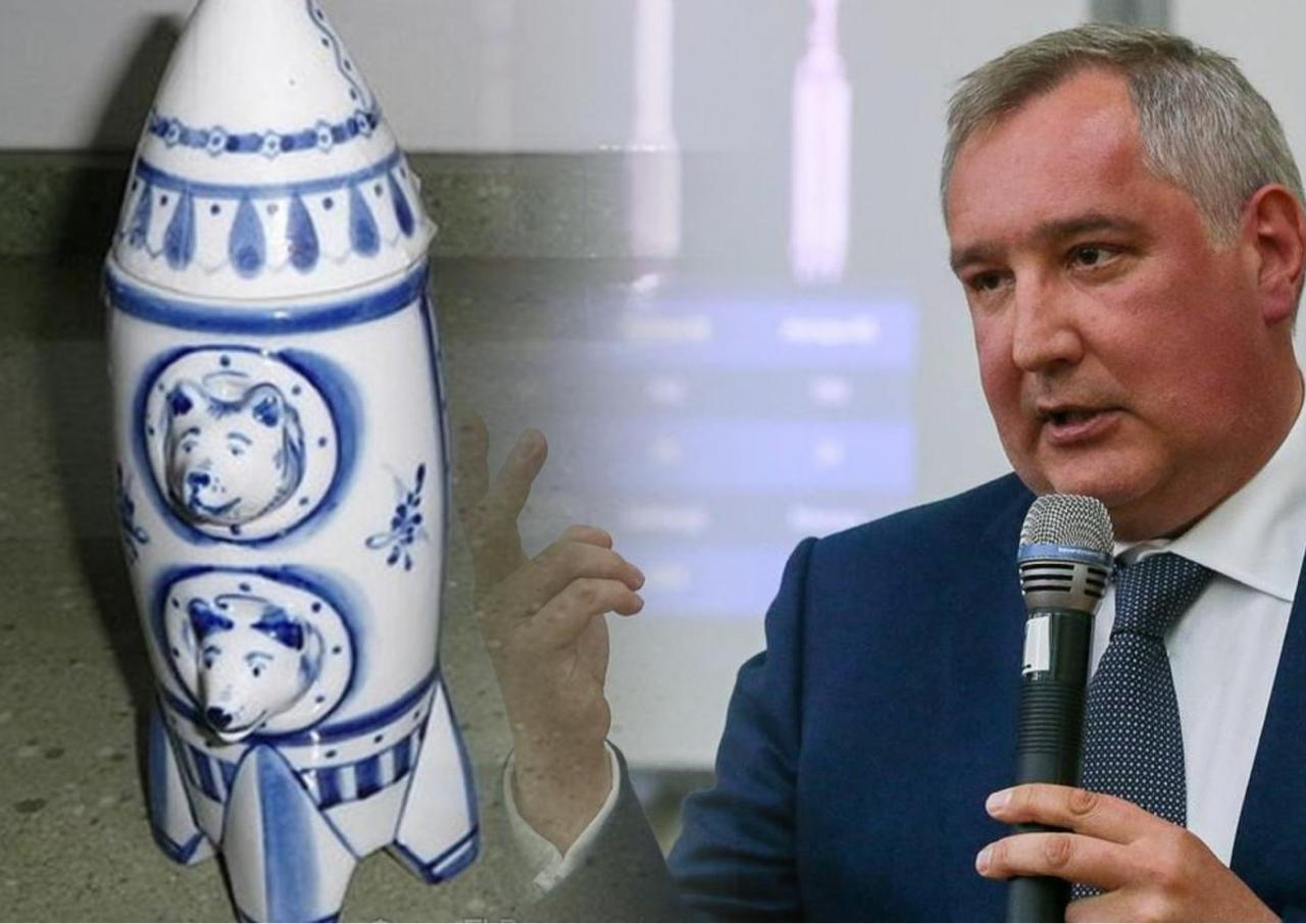 «Скоро люди будут носить майки с логотипом Роскосмоса, а не NASA» - порадовал россиян Дмитрий Рогозин