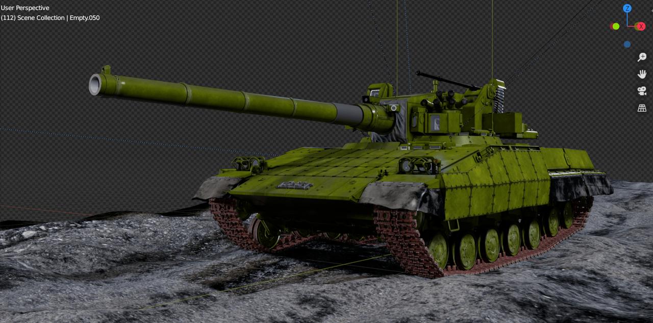 Украинский танк «Молот», с автономной башней без экипажа, секретная разработка Харьковского бронетанкового завода