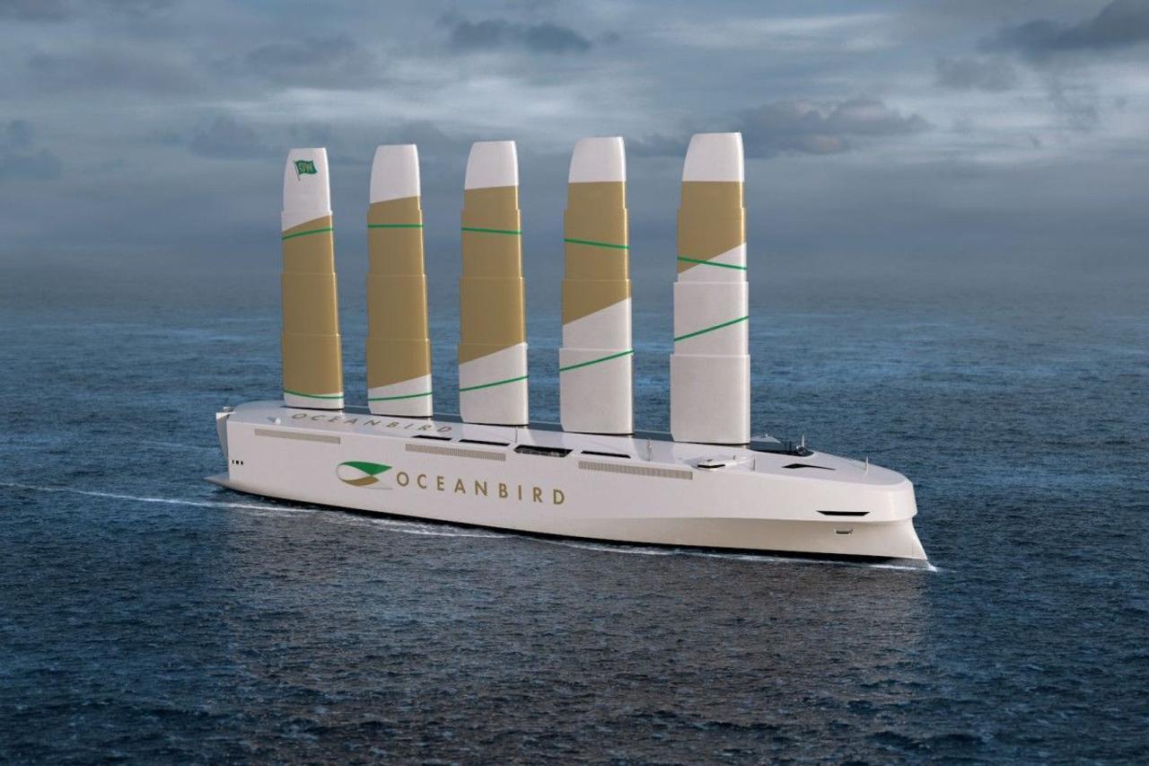 Супер - парусник с ветряной тягой изменит доставку грузов, сократив выбросы углерода на 90 %