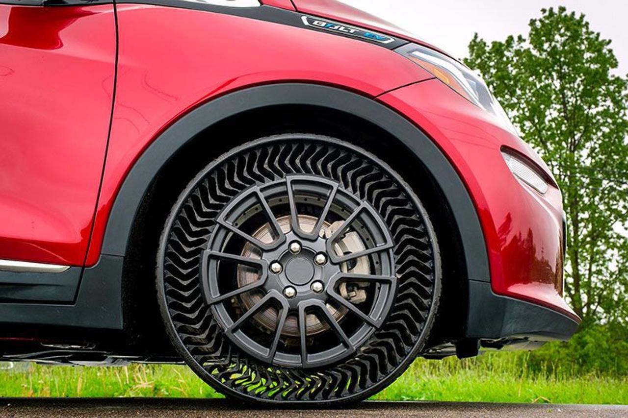 Устойчивые к проколам, безвоздушные шины Michelin вскоре появятся на рынке