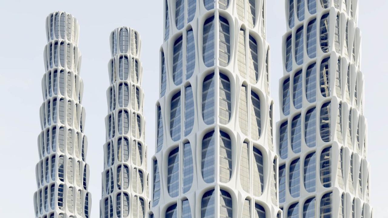Башня будущего с идеальными формами обеспечит сопротивление силе ветра