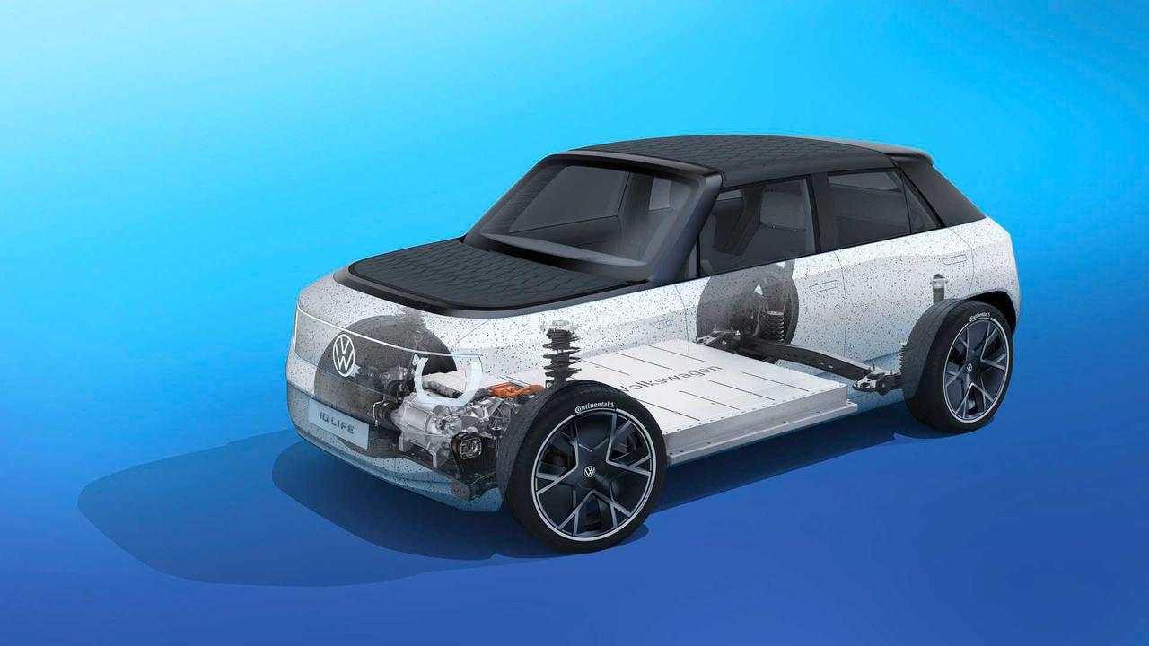 Volkswagen представил модульную платформу MEB-Small для компактных и доступных по цене электромобилей