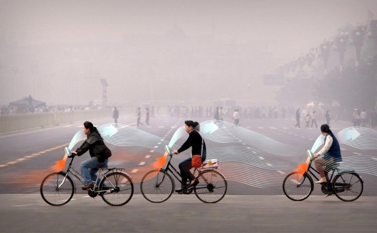 Экологические велосипеды и смогопоглощающие башни очистят города от загрязненного воздуха