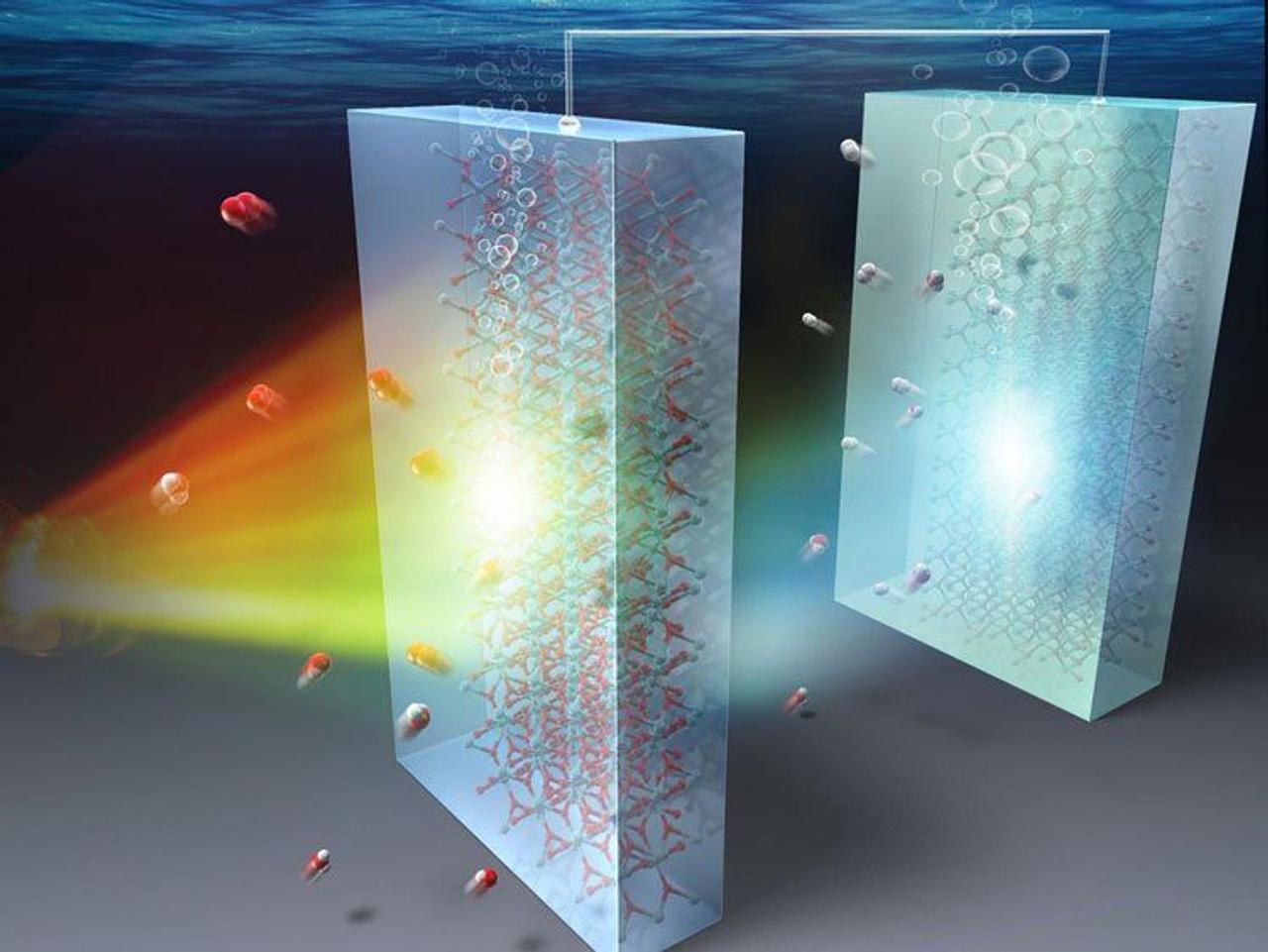 Ученые Японии создали катализатор для добычи водорода из воды с помощью солнечного света