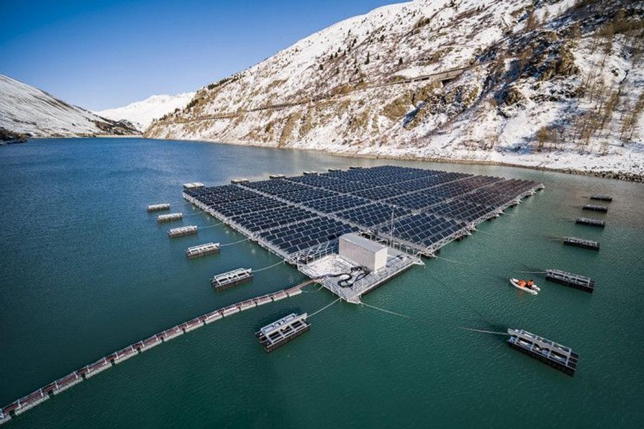 Cолнечные станции установленные в горах собирают на 50 % больше энергии