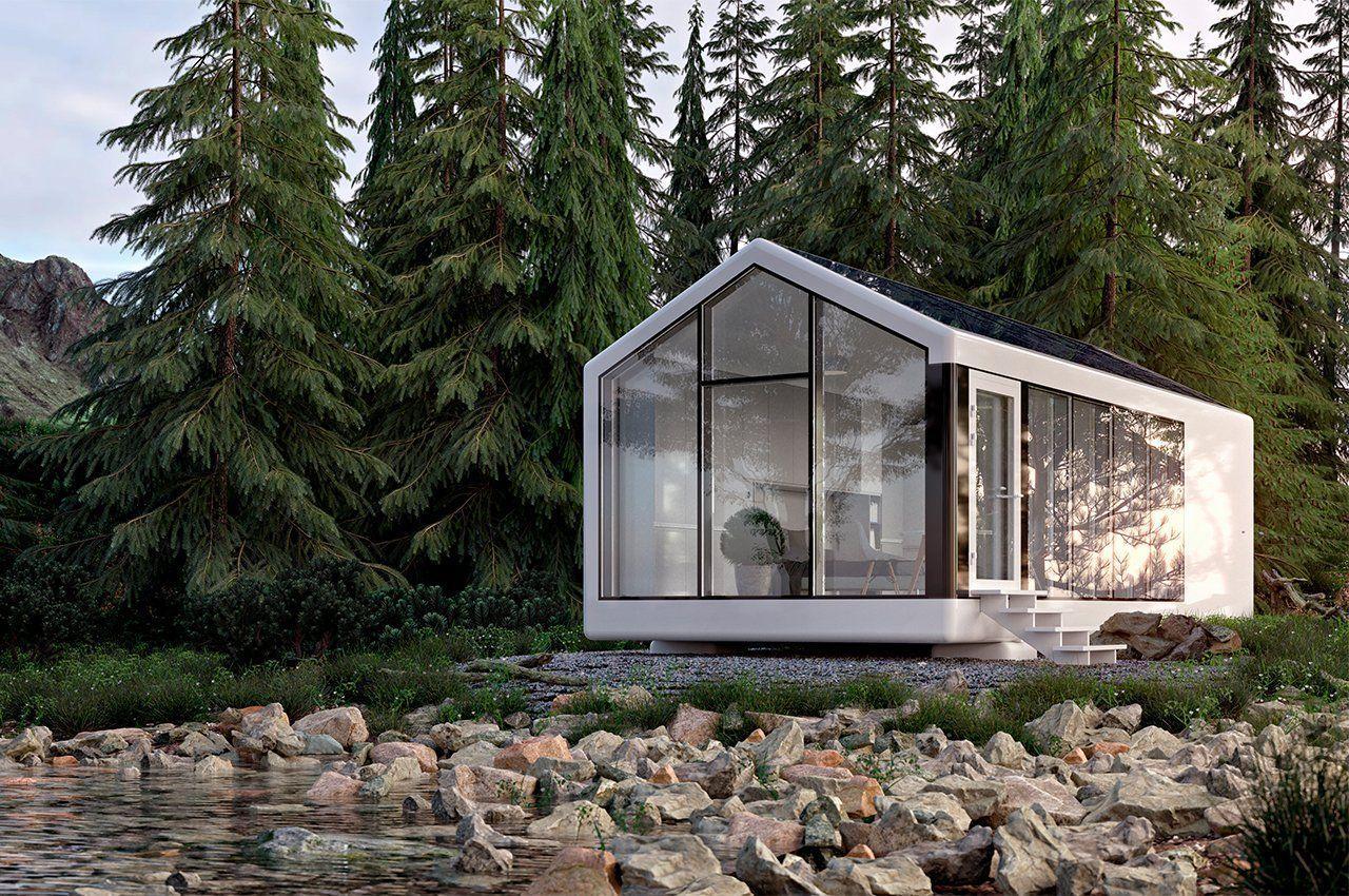 Умный дом компании Haus.me, напечатанный на 3D-принтере, полностью автономен и самодостаточен!