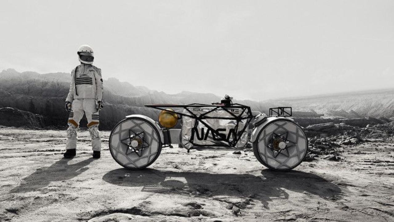 Концепт лунного мотоцикла Tardigrade сделает исследования на Луне гораздо доступней