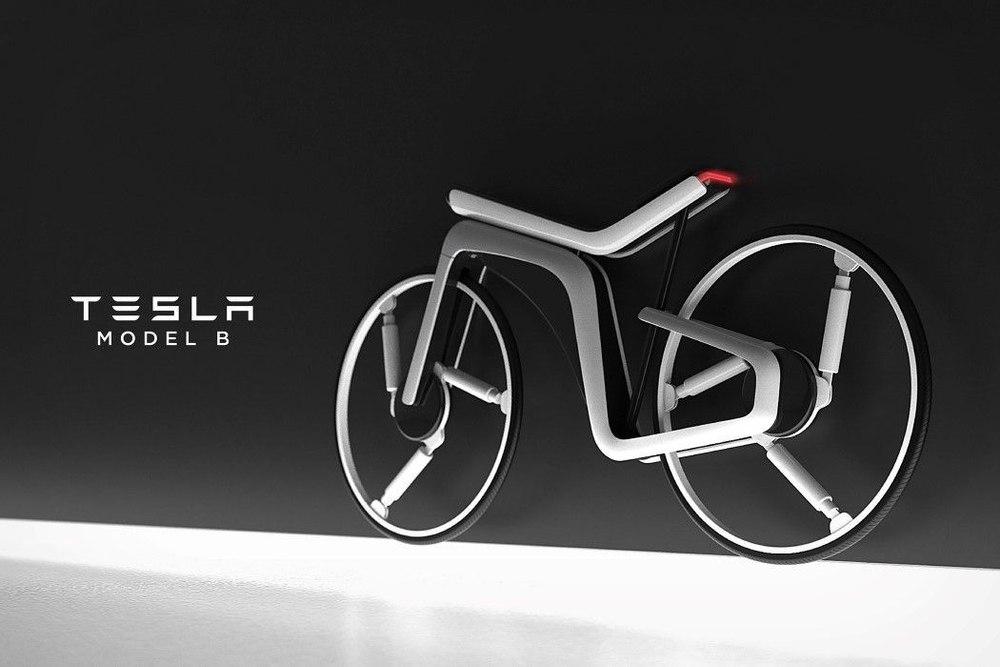 Электровелосипед от Tesla