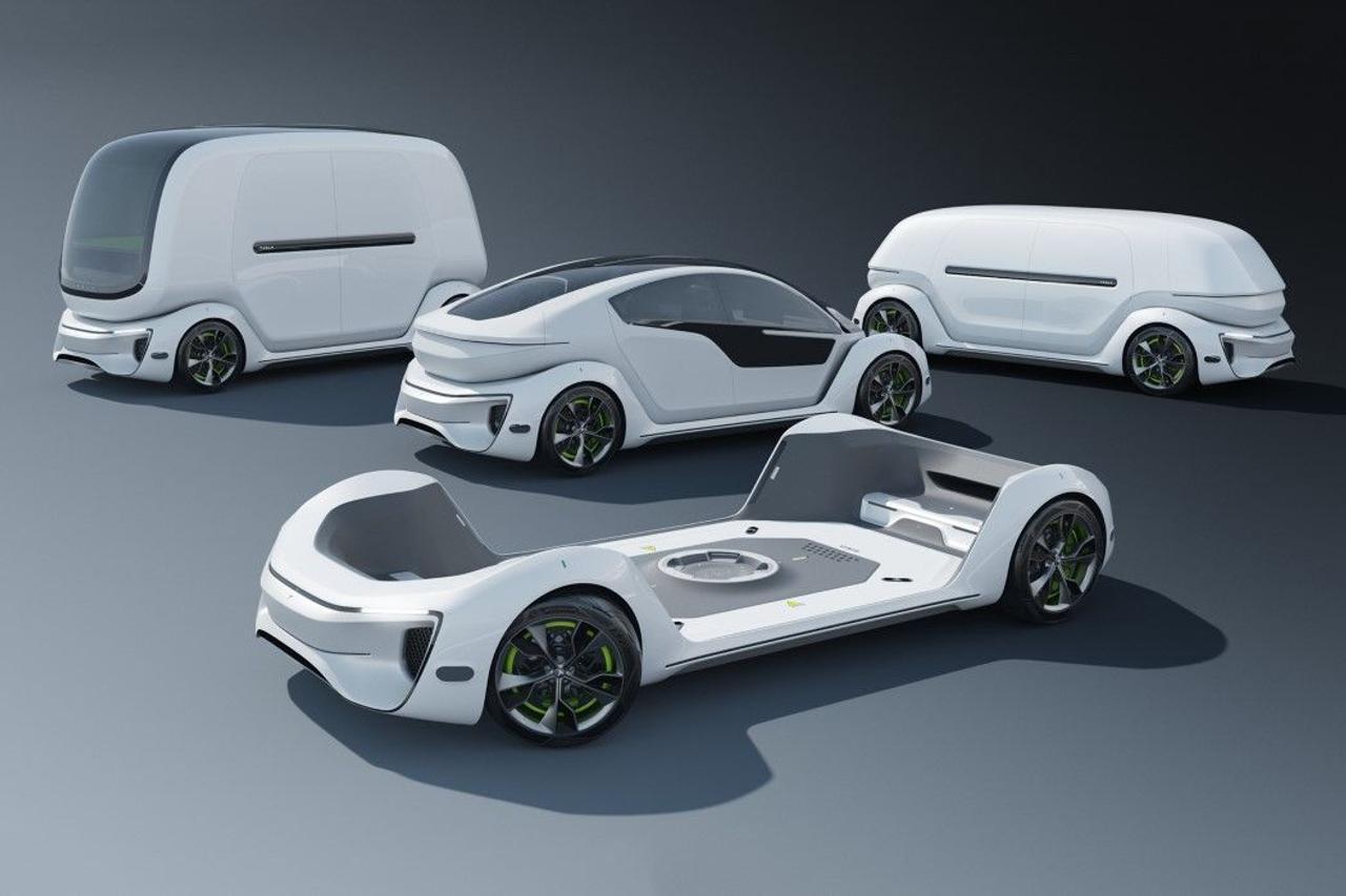 Сменная система Tesla Pod демонстрирует модульность перевозки как пассажиров, так и грузов