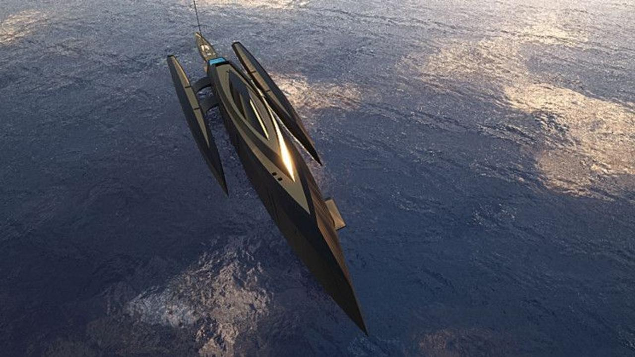 Тримаран Bond Girl вдохновлен фильмом 007: Координаты «Скайфолл» в духе увлекательных приключений