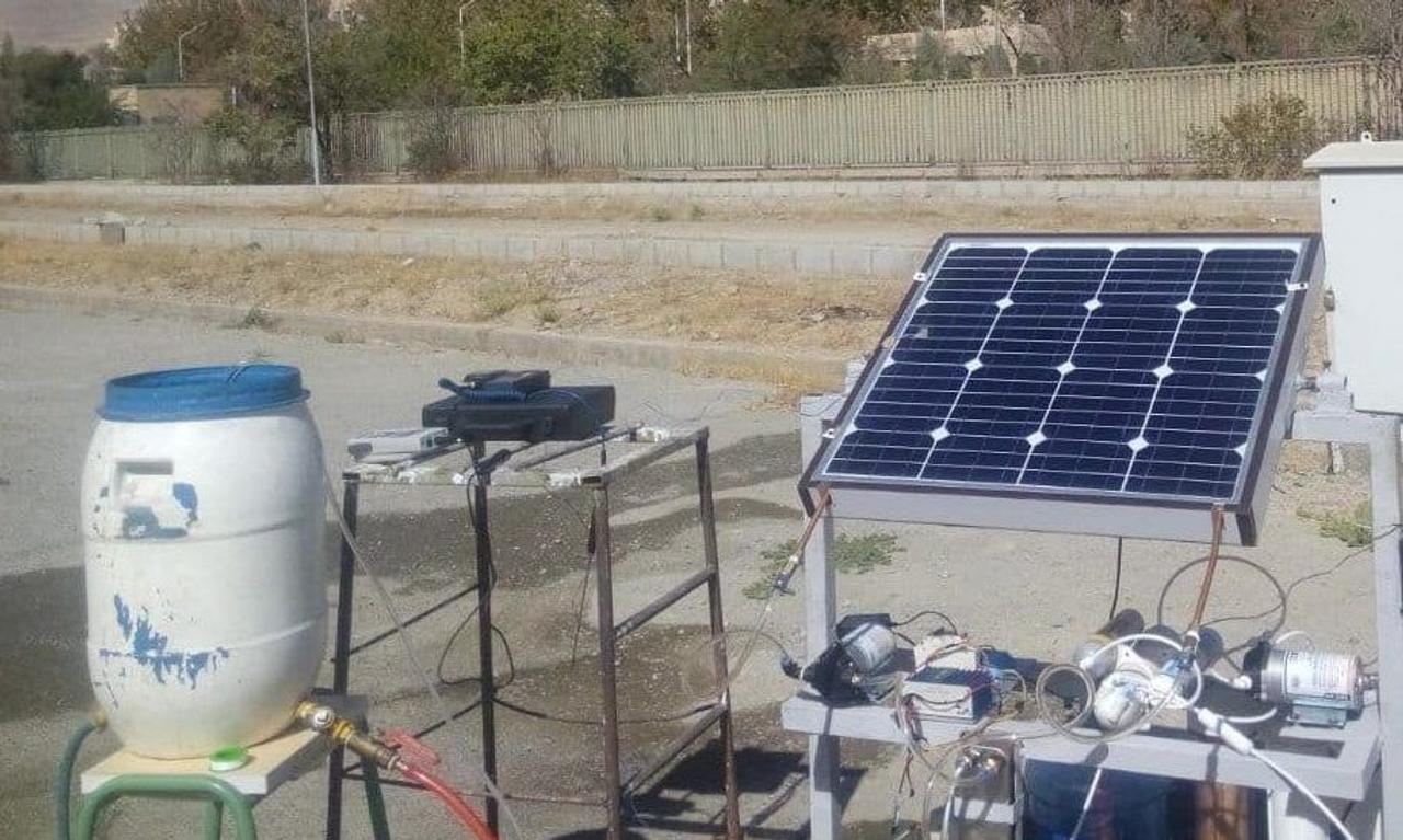 Автономная система опреснения соленой воды с питанием от фотоэлектрической тепловой установки