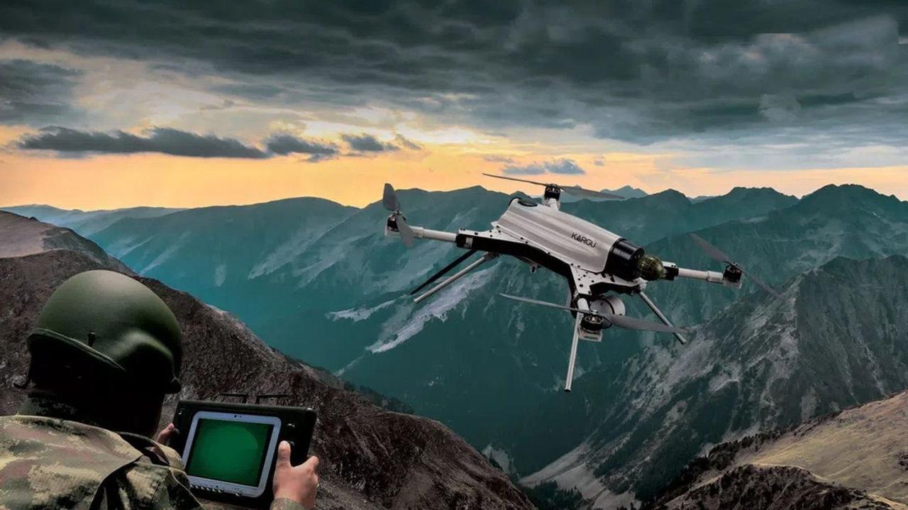 Автономный тактический дрон KARGU может идентифицировать и охотиться на живые цели
