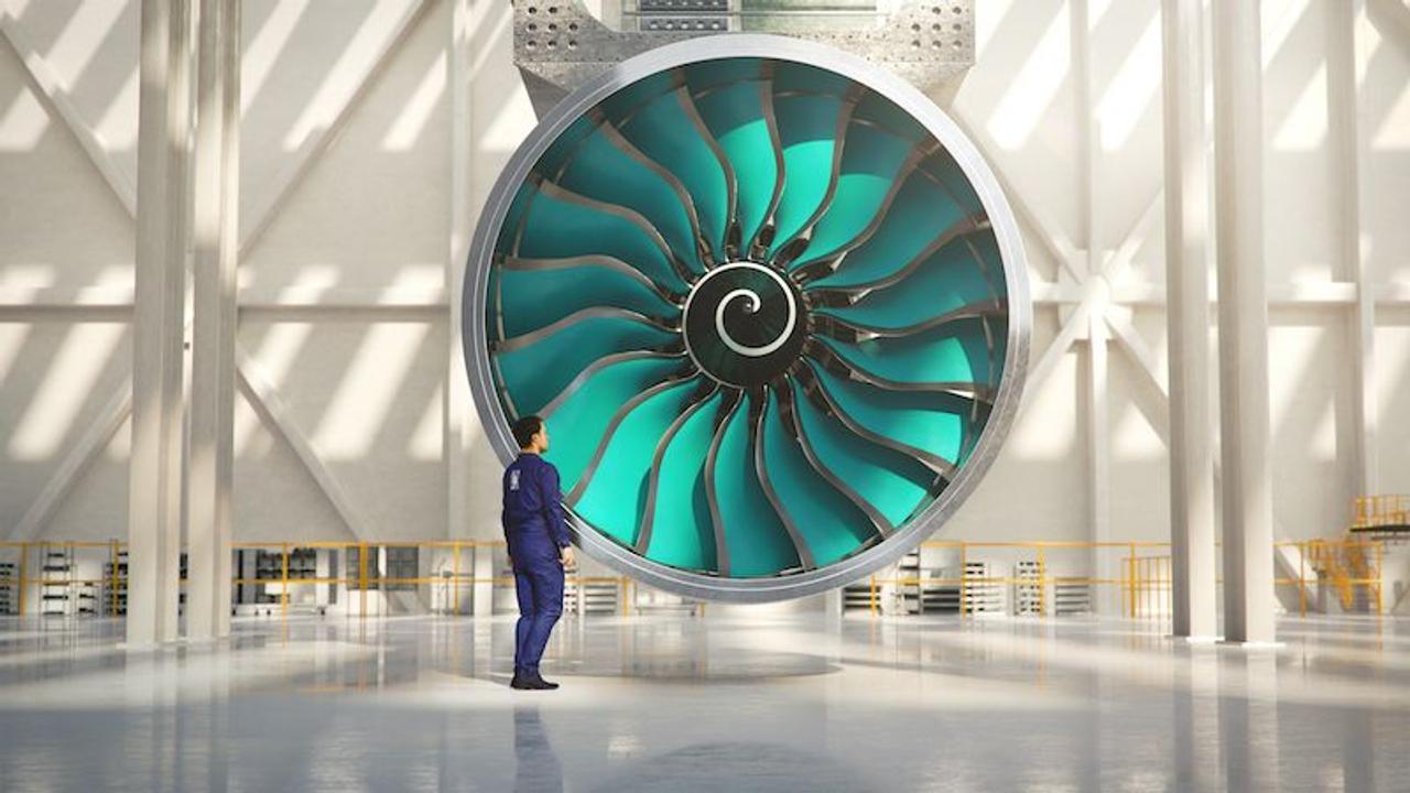 Rolls-Royce создает самый большой в мире авиадвигатель UltraFan, он будет работать на экологичном топливе