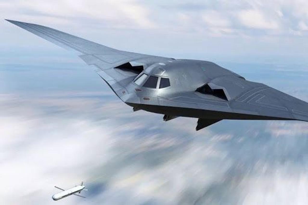 Китайцы создали бомбардировщик-невидимку «Бог войны в небе» с дальностью полета 3100 км