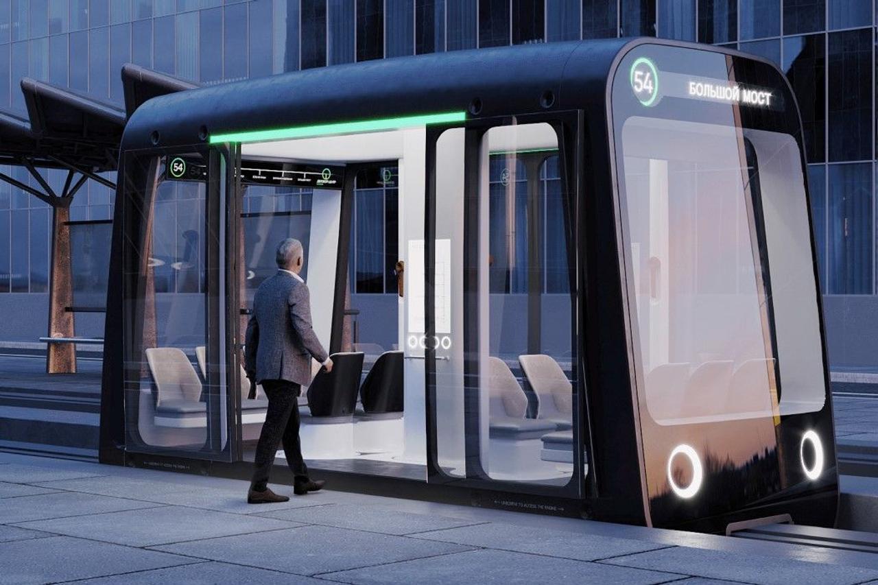 Автономные монорельсовые шатлы, создадут удобную городскую сеть общественного транспорта