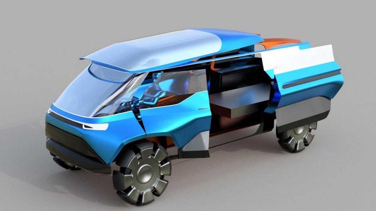 Студенты представили будущую концепцию мобильности для Volkswagen Group