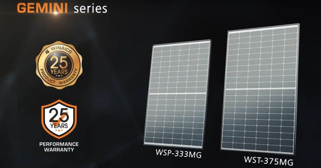 Winaico запускает новый солнечный модуль с выходной мощностью 375 Вт и эффективностью 20,6%