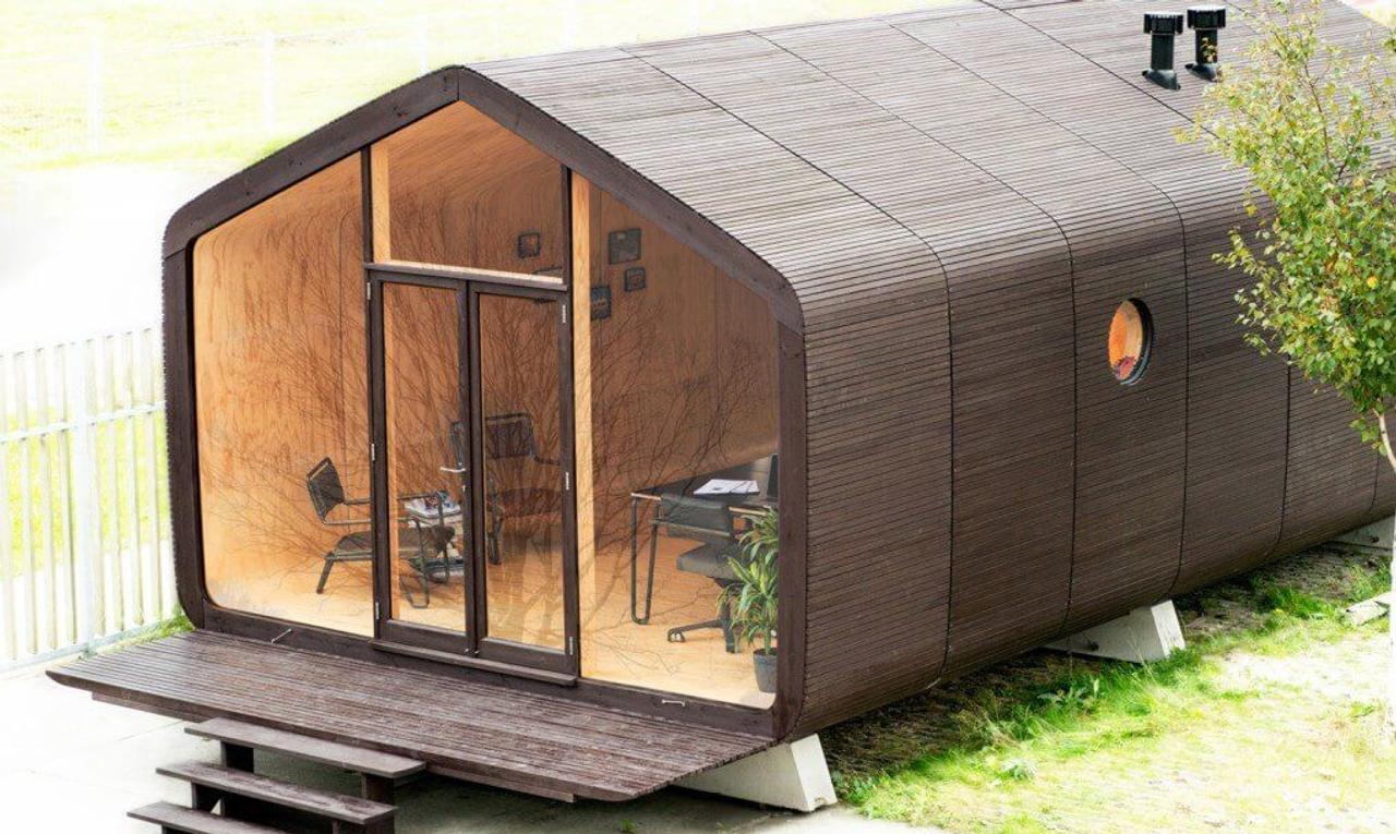 Голландцы строят дома из картона Wikkelhouse всего за 1 день, приемлема ли у нас такая технология?